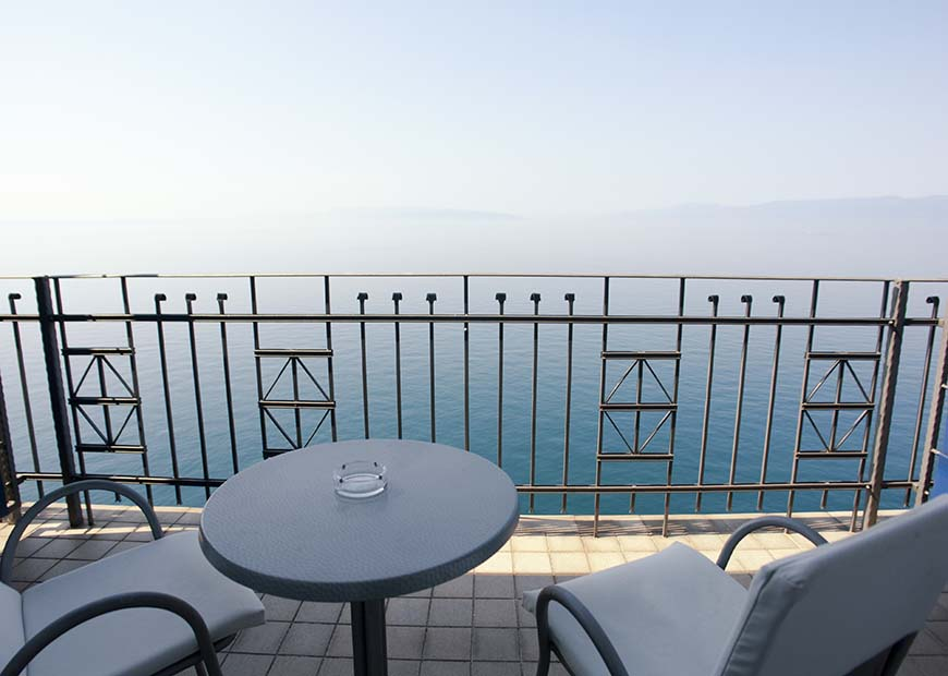 Balkon hotel Jadran