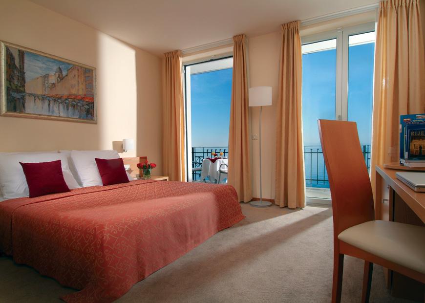 Superior dvokrevetna soba hotel Jadran