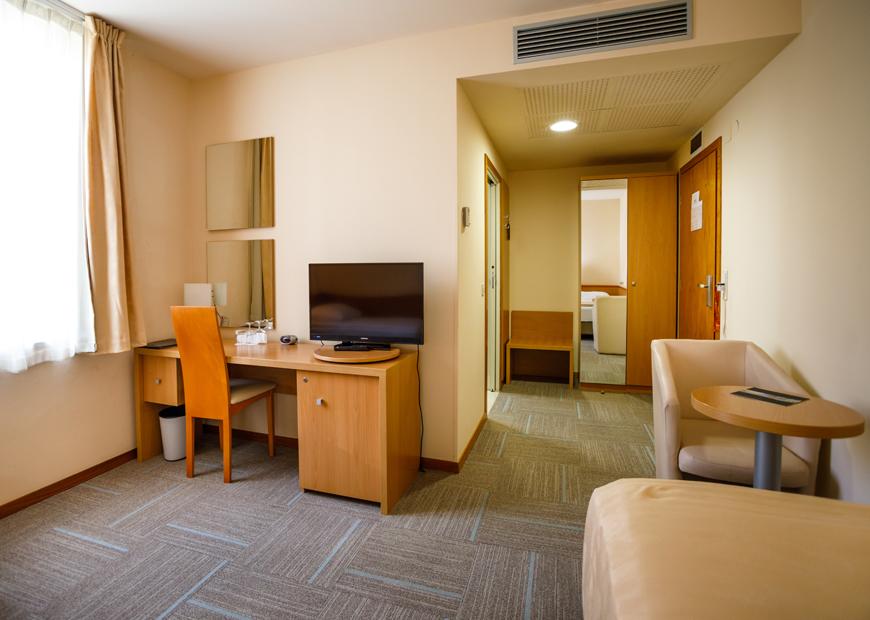 Standard soba hotel Jadran