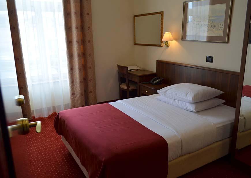 Jednokrevetna soba hotel Continental