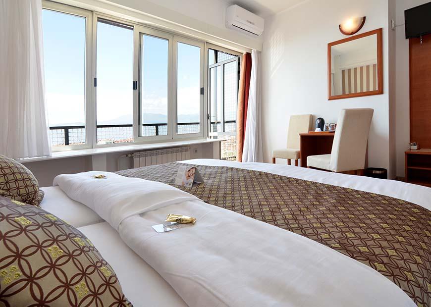 Antialergijska soba hotel Neboder