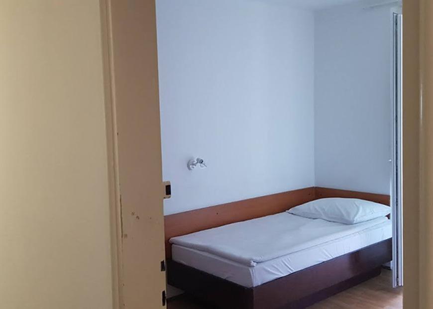 Jednokrevetna soba bez kupaone prenoćište Lucija